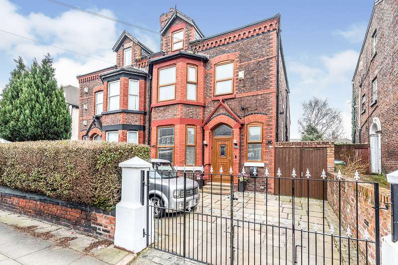 6 Bedrooms Semi Detached House for sale in Marlborough Road, Tuebrook, Liverpool, Merseyside, L13