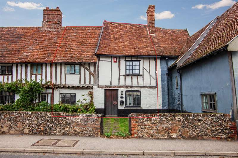 3 Bedrooms Terraced House for sale in The Street, Hacheston, Woodbridge