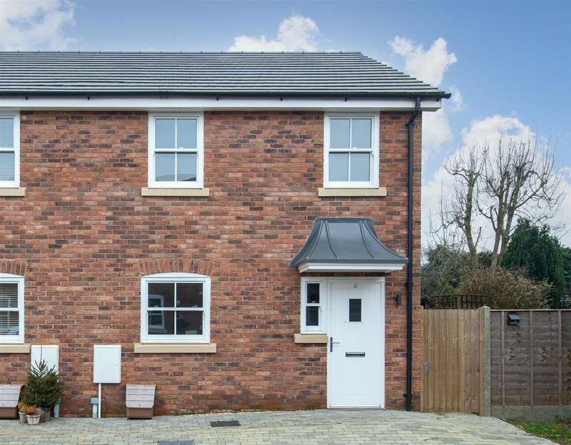 3 Bedrooms End Of Terrace House for sale in Ale House Mews, High Street, Toddington