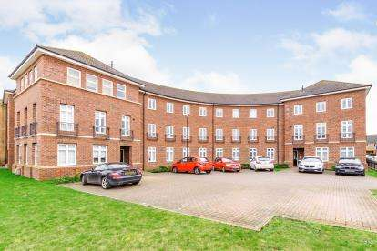 2 Bedrooms Flat for sale in Rochester Way, Shortstown, Bedford, Bedfordshire