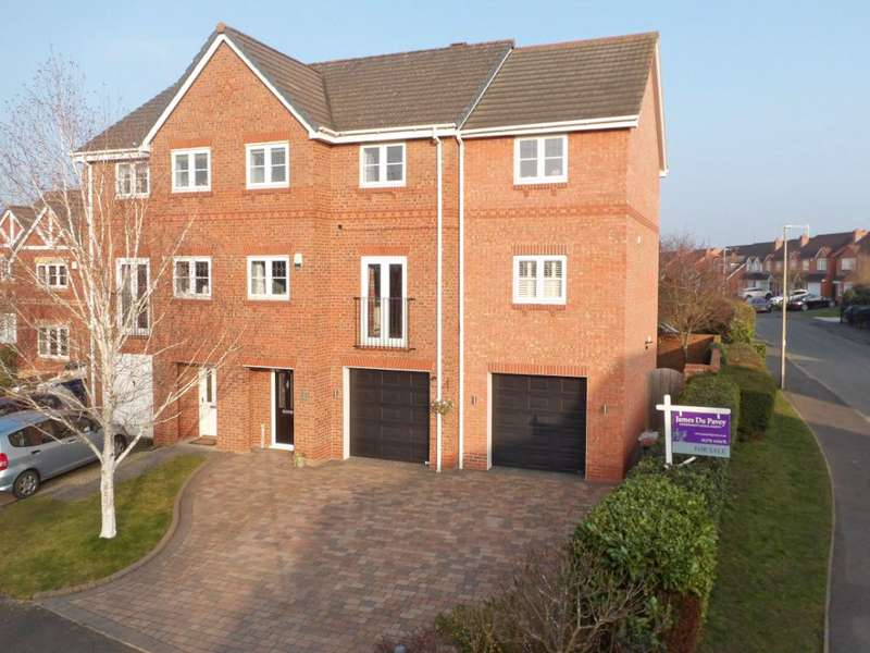 4 Bedrooms Property for sale in Mottram Drive, Nantwich, Cheshire