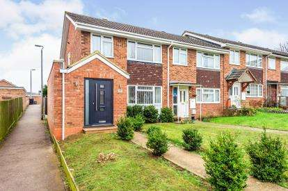 3 Bedrooms End Of Terrace House for sale in Clover Road, Flitwick, Beds, Bedfordshire