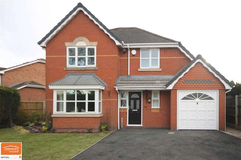 4 Bedrooms Detached House for sale in Redbourn Road, Bloxwich