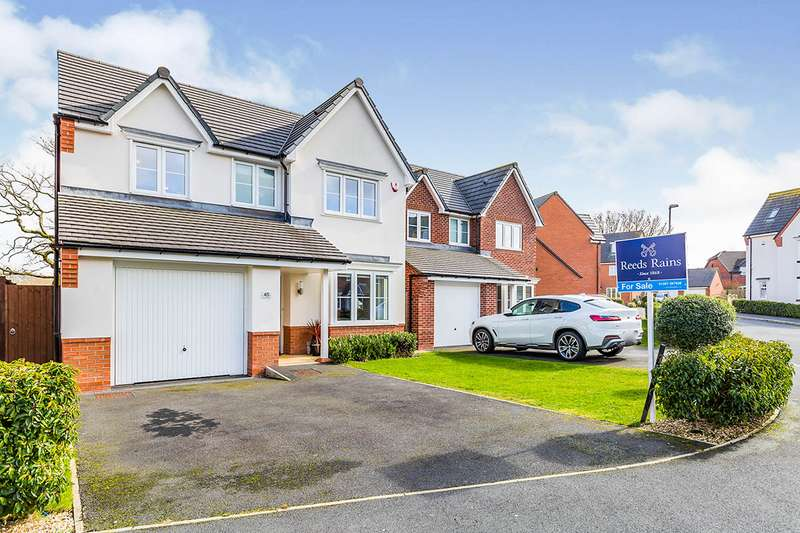 4 Bedrooms Detached House for sale in New Mill Street, Eccleston, Chorley, Lancashire, PR7
