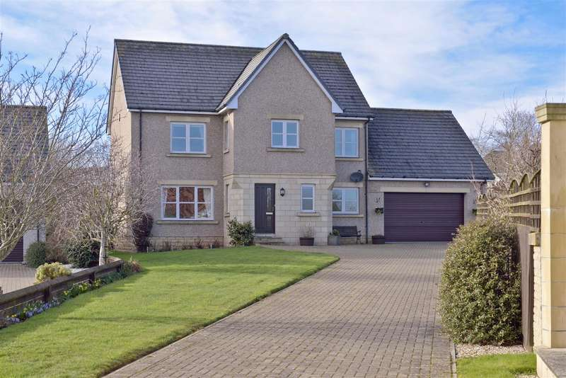 4 Bedrooms Detached House for sale in 2 Wellrig Park, Duns