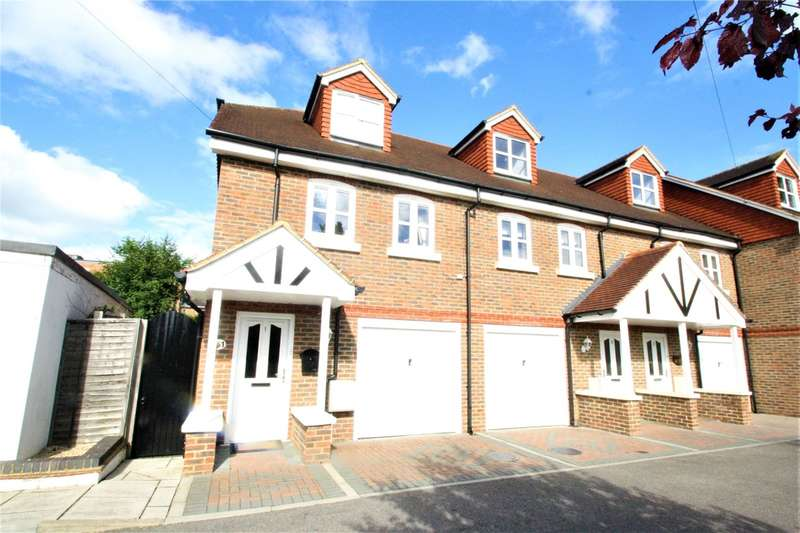 3 Bedrooms End Of Terrace House for sale in Regency Close, Edenbridge, TN8