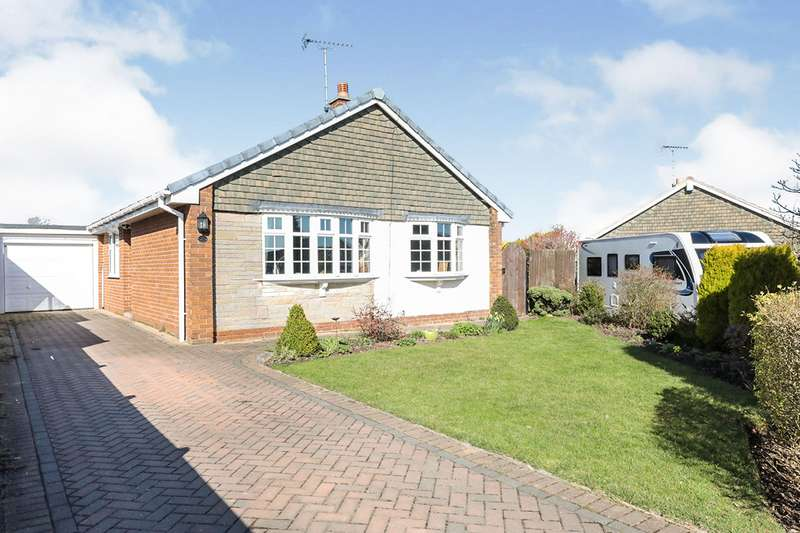 3 Bedrooms Detached Bungalow for sale in Brandsmere Drive, Woodsetts, Worksop, South Yorkshire, S81