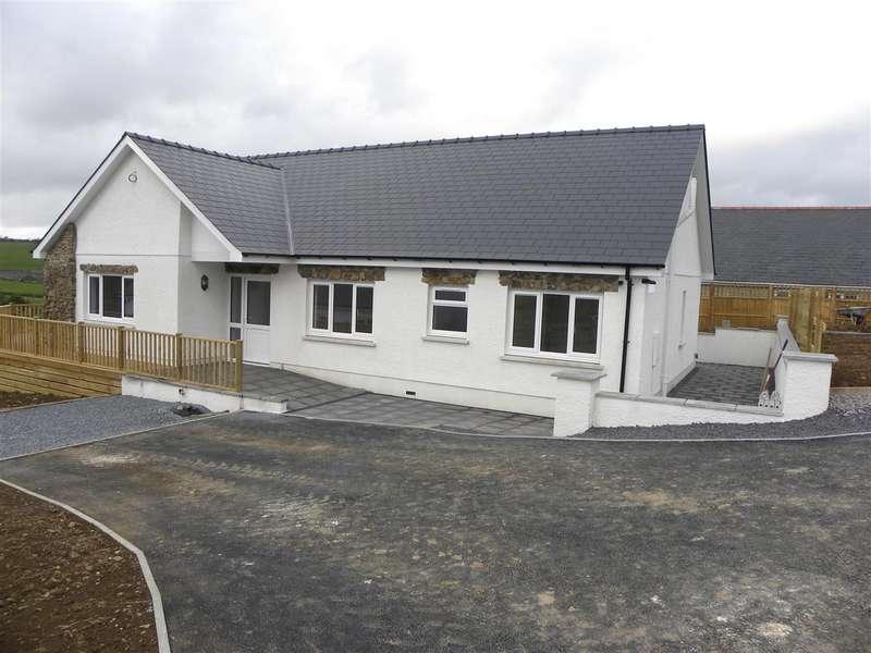 3 Bedrooms Bungalow for sale in Plot 4 adj Tygwyn Farm, Llanllwni
