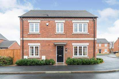 4 Bedrooms Detached House for sale in Tom Stimpson Way, Sutton-In-Ashfield, Nottinghamshire, Notts