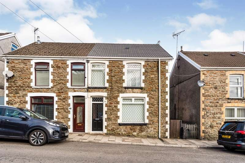 3 Bedrooms Semi Detached House for sale in Maiden Street, Maesteg