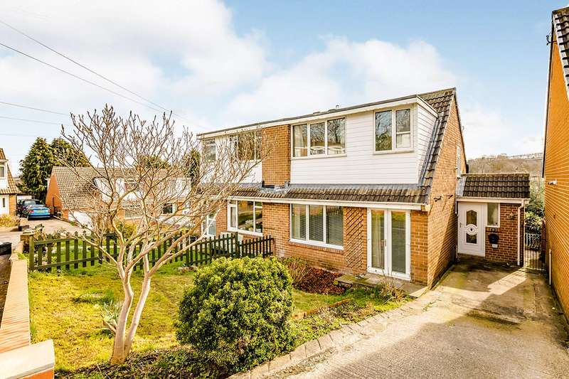 3 Bedrooms Semi Detached House for sale in Castlefields Crescent, Brighouse, West Yorkshire, HD6
