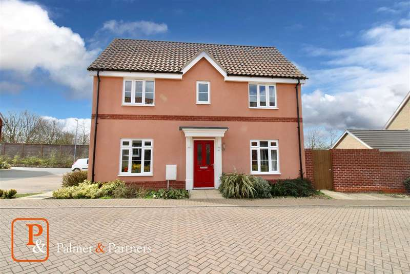 3 Bedrooms End Of Terrace House for sale in Montagu Drive, Saxmundham