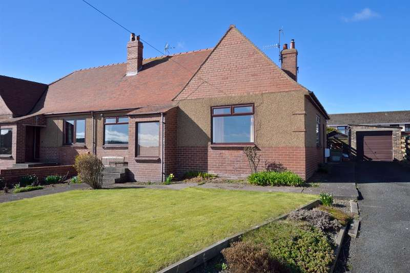 3 Bedrooms Semi Detached House for sale in Breakers View, Fort Road, Eyemouth