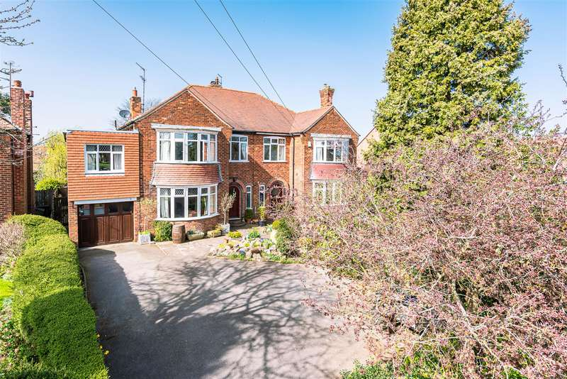 5 Bedrooms Semi Detached House for sale in Driffield Road, Beverley, East Yorkshire, HU17 7LP