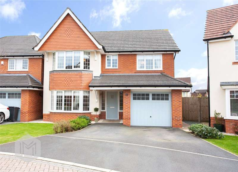 4 Bedrooms Detached House for sale in Jubilee Gardens, Ramsbottom, BL0