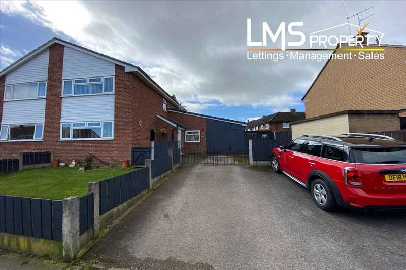 2 Bedrooms Semi Detached House for sale in Moss Bank, Winsford