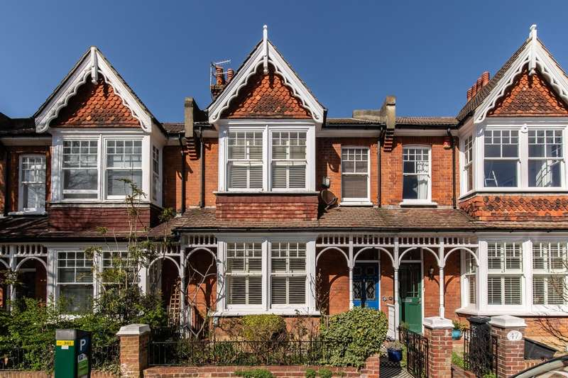 4 Bedrooms Terraced House for sale in Highdown Road, Hove