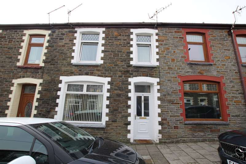 2 Bedrooms Terraced House for sale in Cadwaladr Street, Mountain Ash