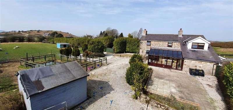 4 Bedrooms Detached House for sale in Moel Y Crio, Moel Y Crio, Flintshire, CH8