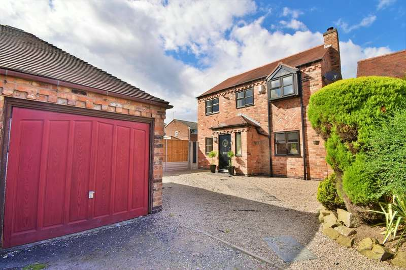 3 Bedrooms Detached House for sale in Scott Close, Ashby-de-la-Zouch