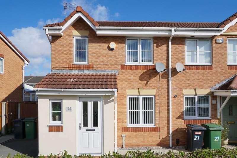 3 Bedrooms Terraced House for sale in Warrender Drive, Prenton, Merseyside, CH43