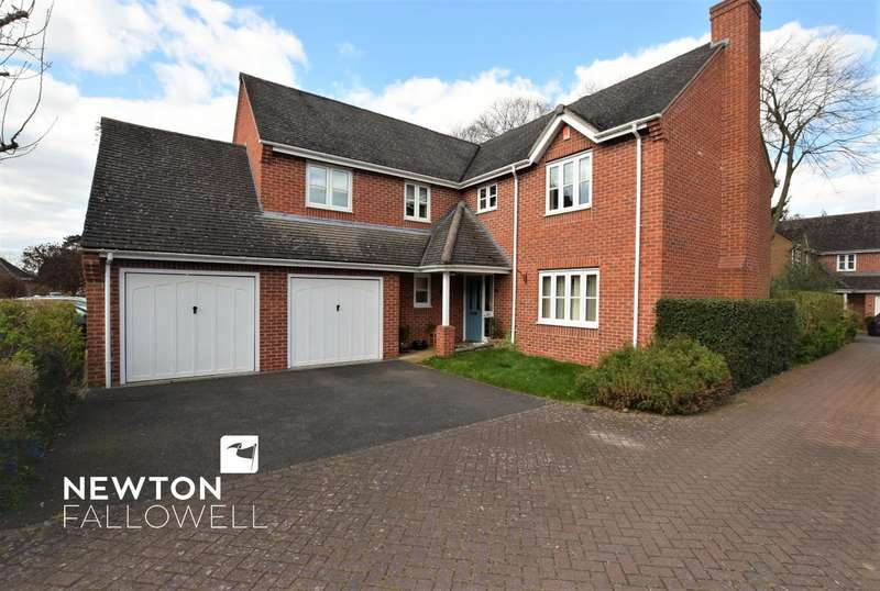 4 Bedrooms Detached House for sale in Ruddle Way, Langham, Oakham