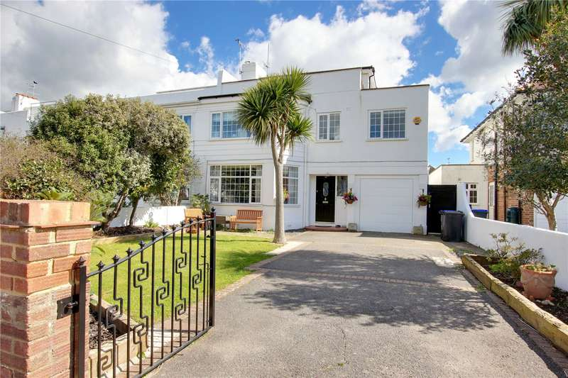 5 Bedrooms Semi Detached House for sale in Robson Road, Goring-by-Sea, Worthing, BN12