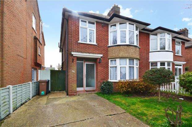 3 Bedrooms Semi Detached House for sale in Barton Road, Felixstowe