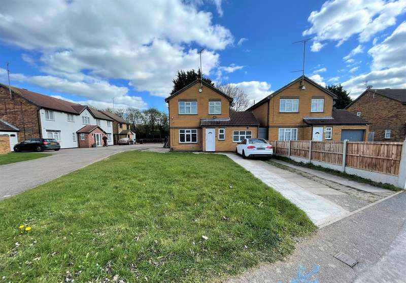 5 Bedrooms Detached House for sale in Trevino Drive, Rushey Mead, Leicester