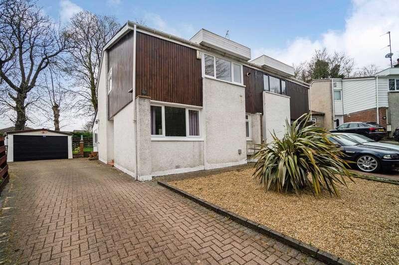 3 Bedrooms Semi Detached House for sale in Linn Park Gardens, Johnstone