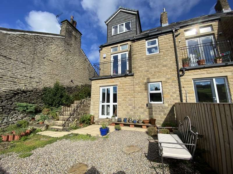 3 Bedrooms End Of Terrace House for sale in Broadfield Park, Holmfirth, West Yorkshire, HD9