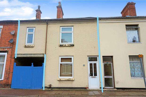 3 Bedrooms Terraced House for sale in Glebe Street, Loughborough, LE11 2JR