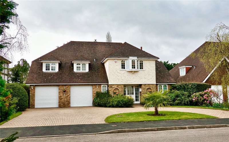 4 Bedrooms Detached House for sale in Lime Tree Walk, Rickmansworth, Hertfordshire, WD3