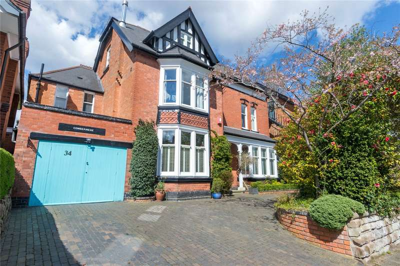 5 Bedrooms Detached House for sale in Grove Avenue, Moseley, Birmingham, B13