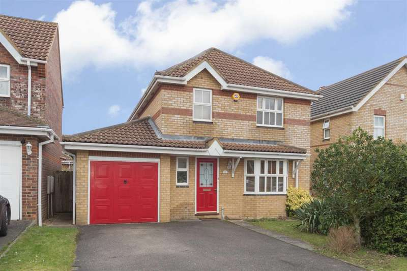 4 Bedrooms Detached House for sale in Arnald Way, Houghton Regis