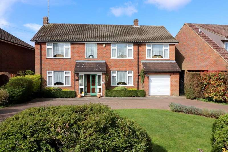 5 Bedrooms Detached House for sale in Old Bedford Road, Luton, Bedfordshire, LU2 7EH