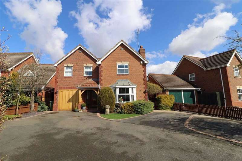 5 Bedrooms Detached House for sale in Verden Avenue, Chase Meadow, Warwick, CV34