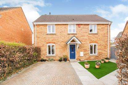 4 Bedrooms Detached House for sale in Johnson Road, Emersons Green, Bristol, .