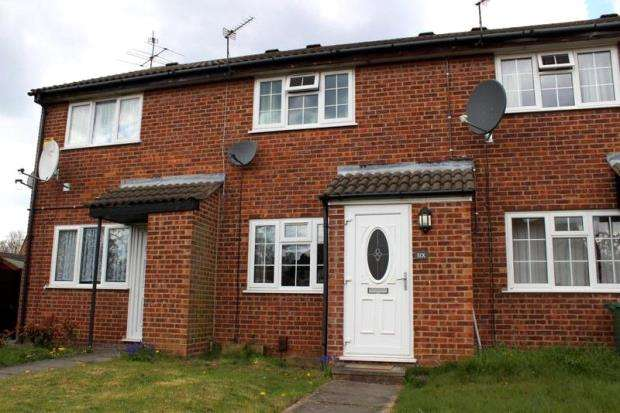 2 Bedrooms Terraced House for sale in Rudyard Close, Loughborough, Leicestershire