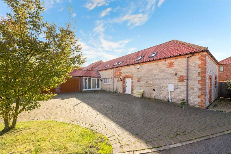 5 Bedrooms Detached House for sale in Mareham Lane Farm House, Sleaford, Lincolnshire, NG34