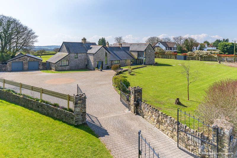 6 Bedrooms Detached House for sale in The Old Rectory, St. Lythans, Cardiff, CF5 6BQ
