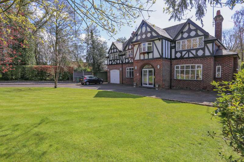 6 Bedrooms Detached House for sale in Chadkirk Road, Romiley, Stockport, Cheshire, SK6