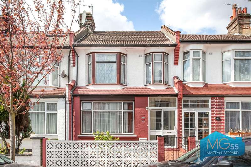 3 Bedrooms Terraced House for sale in Arnold Gardens, Palmers Green, London, N13