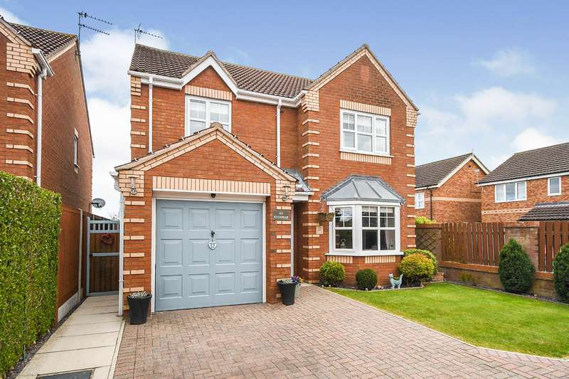 4 Bedrooms Detached House for sale in Rivermead, Lincoln, Lincolnshire, LN6