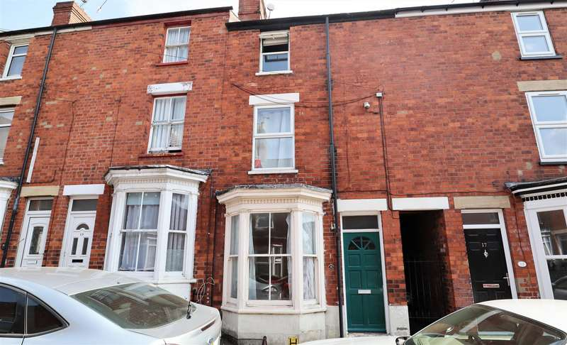 4 Bedrooms Terraced House for sale in Cromwell Street, Lincoln