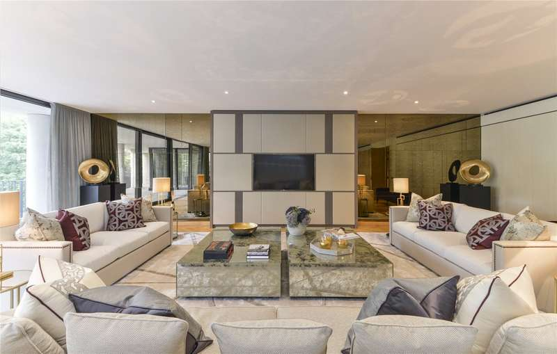 5 Bedrooms Flat for sale in One Kensington Gardens, Kensington Road, London W8