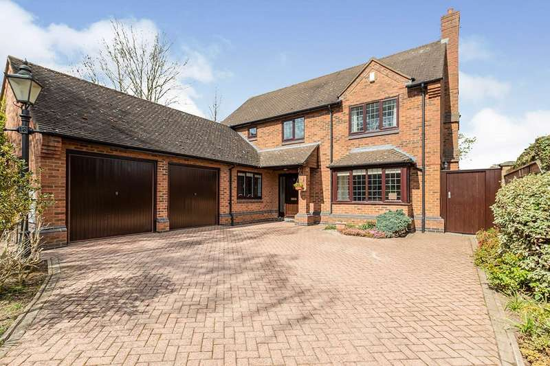 4 Bedrooms Detached House for sale in Hollies Close, Thurlaston, Leicester, Leicestershire, LE9