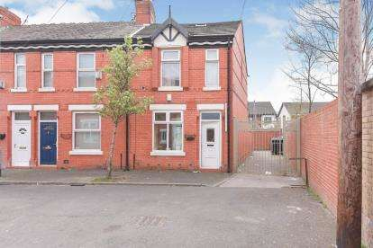2 Bedrooms End Of Terrace House for sale in Carlton Avenue, Rusholme, Manchester, Greater Manchester