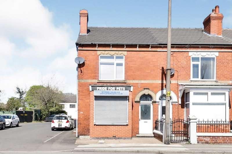 1 Bedroom End Of Terrace House for sale in Lidgett Lane, Dinnington, Sheffield, South Yorkshire, S25