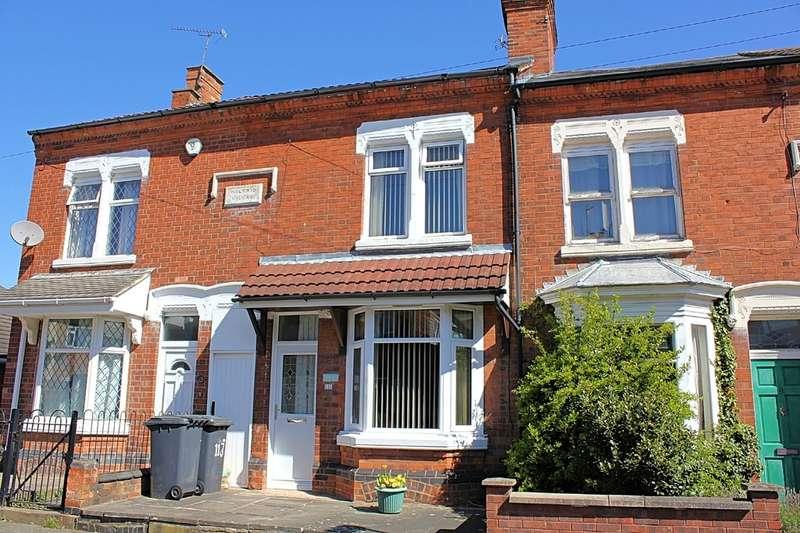 2 Bedrooms Terraced House for sale in Burgess Road, Aylestone